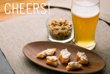 CHEERS: Easy Apps / Happy hour, beverages and easy appetizers