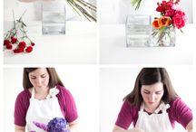 Aranjamente florale și altele