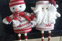 Zelf gemaakte kerstknutsels / Zelf gemaakte kerstknutsels