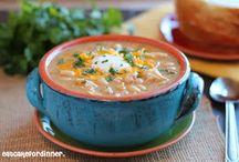 Soup and salads / by Sherri Barrett