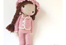 Crochet dolls & toys