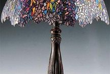 Tiffany lamps etc & more