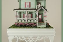 144th Scale Online Classes / Dollhouse Miniatures in 144th scale