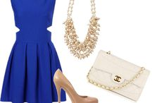 royal blue dress outfits