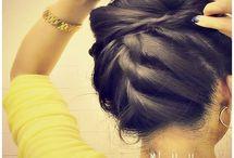 hair / by Kyla H