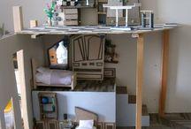 Piccoli lavori di scenografia / Foto di alcuni lavori realizzati interamente da me, per progetti di scenografia.