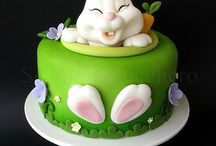 CAKE - EASTER themed cake