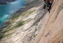 Escalada, alpinismo, vias ferrata