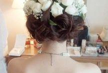 ウェデングドレス髪型