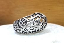filigree silver ring statement ring tribal ring gypsy ring eternity ring delicate ring statement jewelry bohemian jewelry ring ring