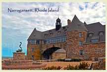 Classic Rhode Island Postcards / A collection of images of classic or historic Rhode Island landmarks enhanced to convey a vintage style reminiscent of days of old.