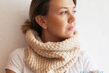 Снуды, шарфы, платки
