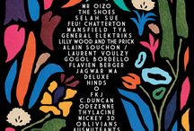 ACR / Affiches festival de musique