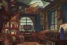 Backgrounds and other scenes