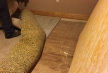 Homemade plywood flooring