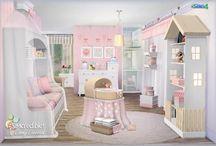 Sims 4 cc nursery room