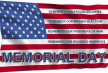 Memorial Day / Memorial Day is a federal holiday in the United States for remembering the people who died while serving in the country's armed forces.