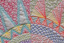 tikkaus & lanka / stitch & embroidery / Tikkaus pinta, Textuuri..