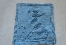 Baby mine / To make a baby blanket and use up odds and ends of wool