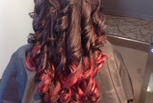 My WORK(Color,Haircuts,Styles/Updo's)