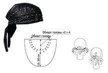 Головные уборы / идеи для шапок и бандан