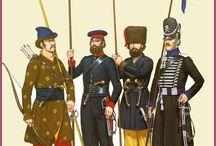 Napoleon 1812 / Uniformen van La Grande Armée en het Russische Leger