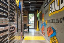 Industrial Themed Office Spaces