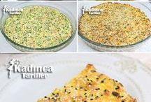 fırında peynirli pirasa