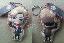 Mini Doll / Key Chains #INFINITE #DaehanMingukManse / Hand Made Doll created by ratnayeol / Little Lumut
