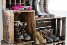 Schoenen rek