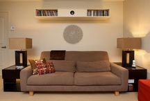 Projector shelf