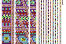 Вязание с бисером-жгут