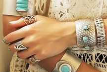 Hand Chains & Hand Cuffs & Hand Bracelets / Boho Bracelets , Gypsy Bohemian Hand Jewelry , Women Watches and Bracelet Sets