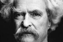 Samuel Clemens/Mark Twain / my man!  / by Jutta Bryant