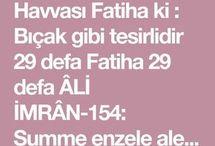 Ali imran, fatiha