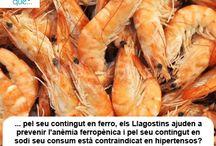 Llagostins/ Langostinos / Aquí trobaràs curiositats sobre els llagostins / Aquí encontrarás curiosidades sobre los langostinos