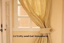 Mini Tutes Curtains
