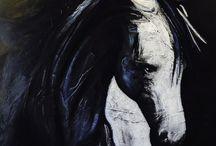 Tableaux, peindre / Cheval