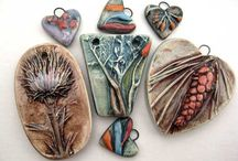 clay jewelry / by Lisa Bienko