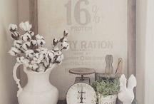 Flowers corner-decor