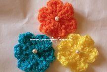 fiorellini uncinetto