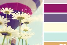 Colour pallete for home / My fav coliur combinations