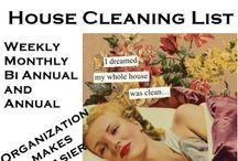 Organizacao e limpeza