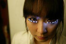 eyelashes/makup