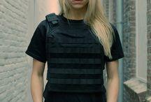 female body armor