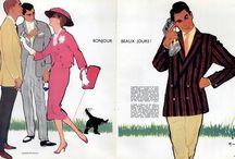 Fashion Illustrator. Rene Gruau
