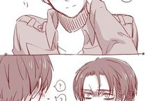 eren/levi [attack on titan]
