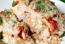 Chicken, lasagna stuffed