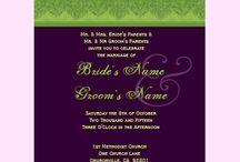 Wedding Invitations / by Joan Mclain