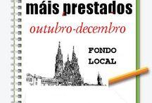 Máis prestados FONDO LOCAL OUTONO 2014 / Os máis prestados de FONDO LOCAL na Biblioteca Ánxel Casal. OUTUBRO-DECEMBRO 2014